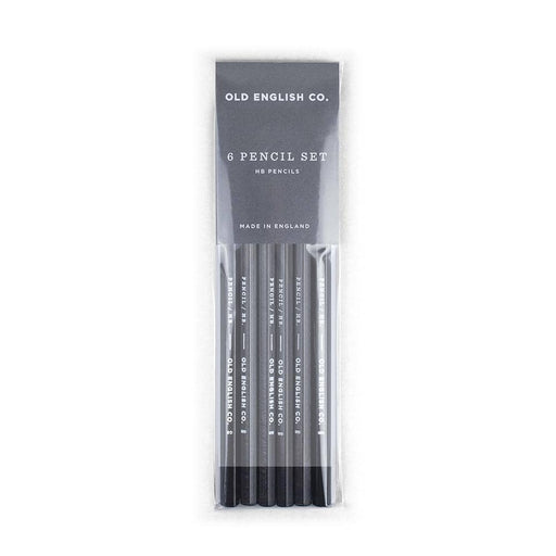 Charcoal and White - HB Pencil Set