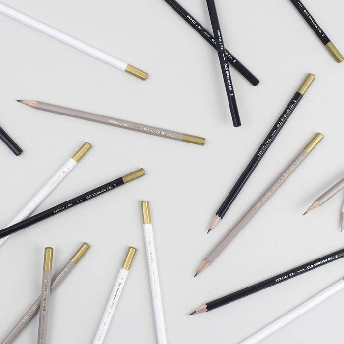 Pencil Collection - Ash and Gold