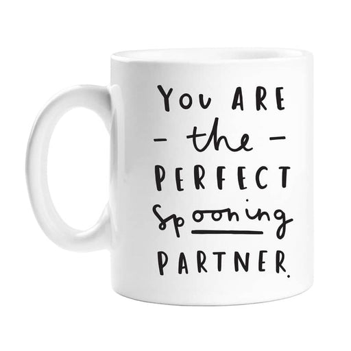 perfect spooning partner mug
