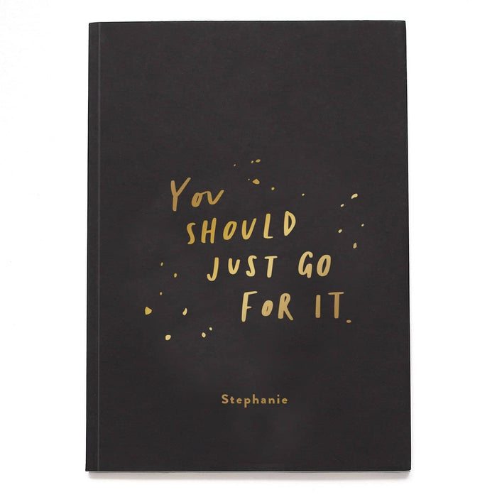 just go for it notebook
