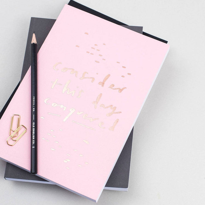 Quote Pink A5 Planner