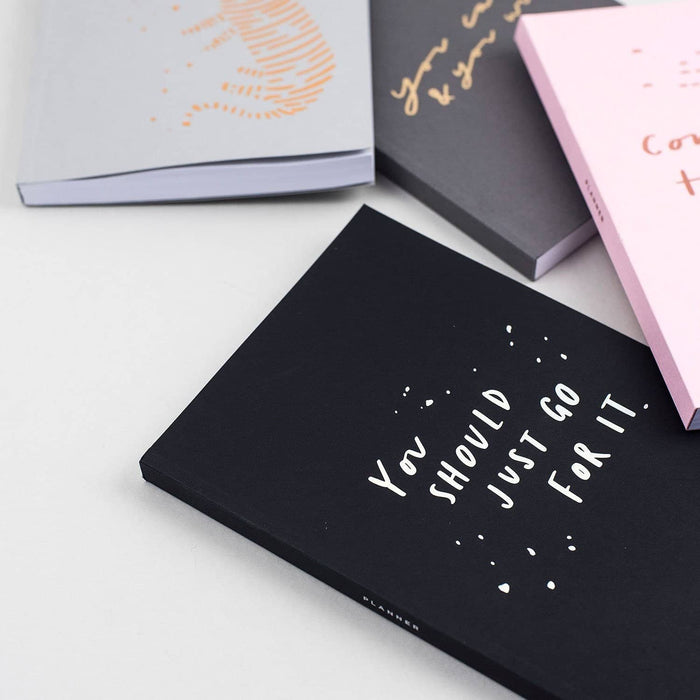 Foiled planner collection