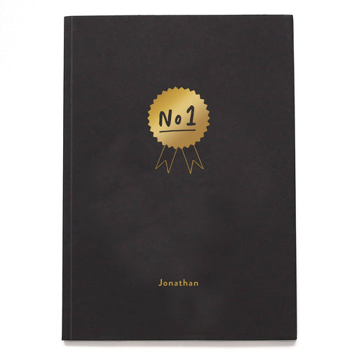 Number 1 Personalised Notebook