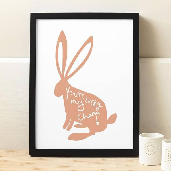 love rabbit print