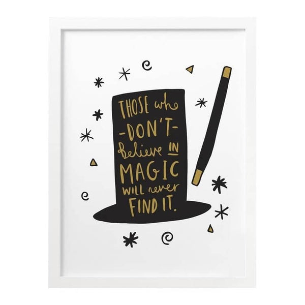 Roald Dahl Magic Hat print