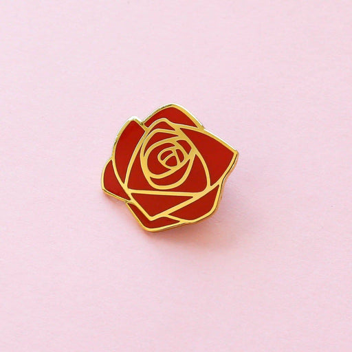 Rose Flower Enamel Pin