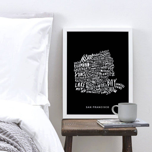 San Francisco city print