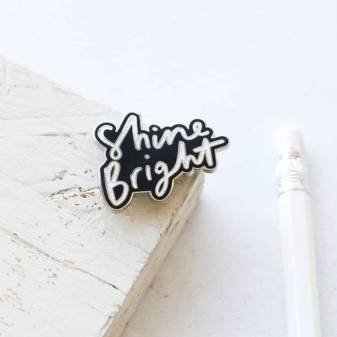 Shine Bright Enamel Pin