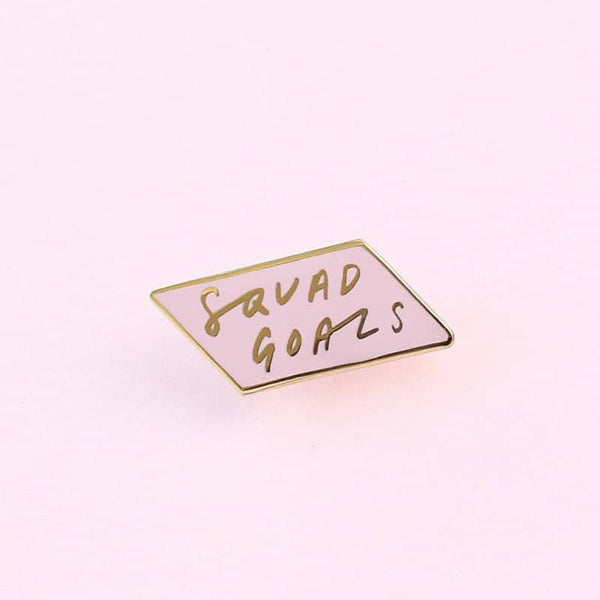 girlg gang enamel pin
