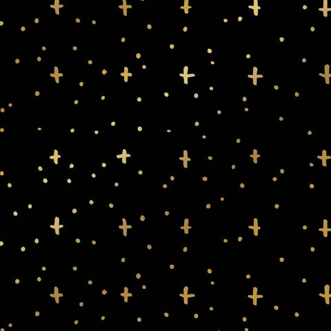 Gold Stars Wrapping Paper