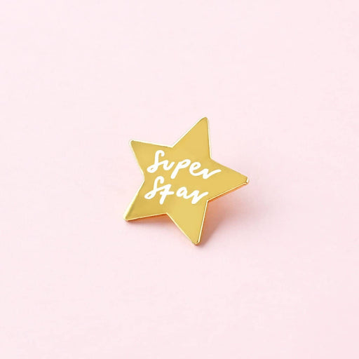 Start shaped enamel pin