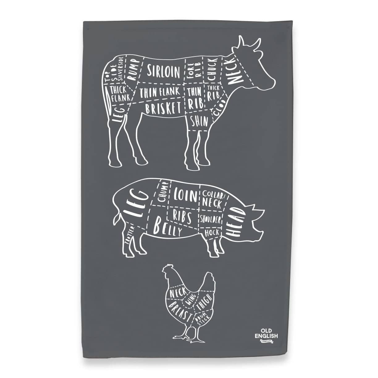 butcher tea towel