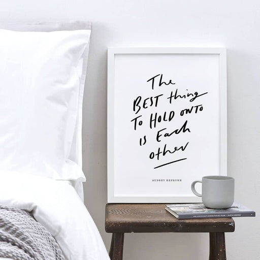 Love Quote Art Print