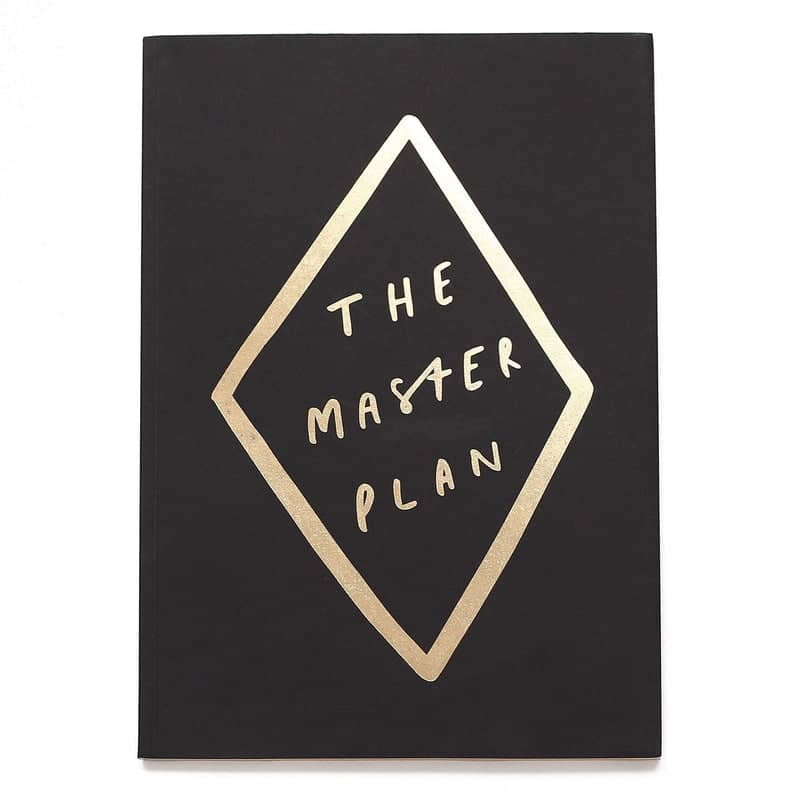 the master plan gold notebook