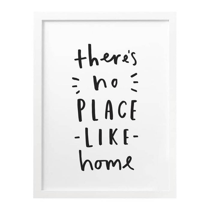 There's No Place Like Home Print
