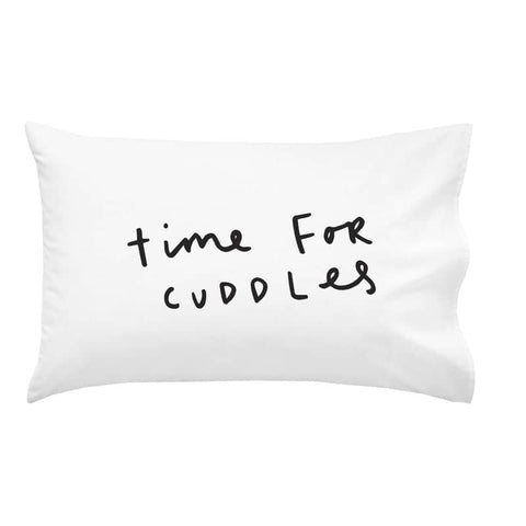 Time For Cuddles Pillow Case