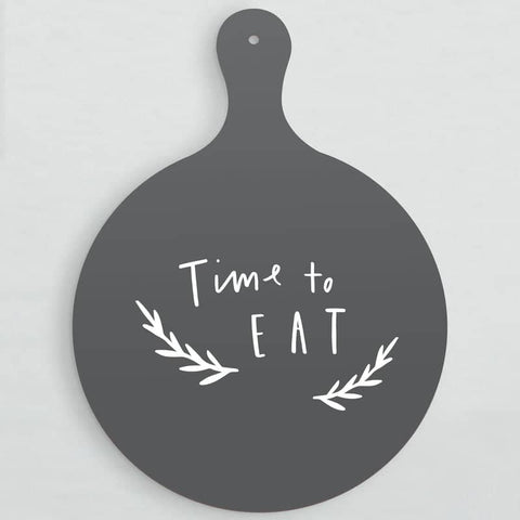 Time To Eat Serving Board