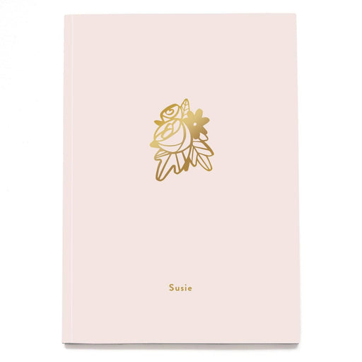 Flowers Personalised Notebook