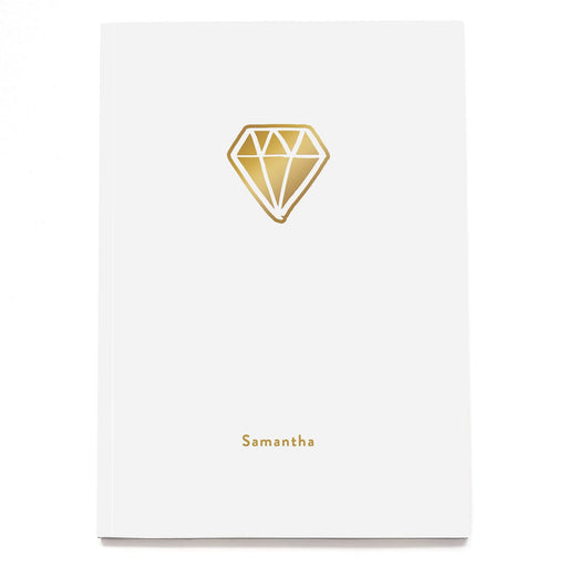 Diamond Personalised Notebook