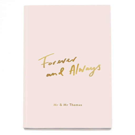 Forever and always Personalised Notebook