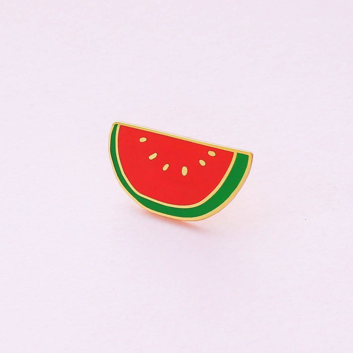 Melon Enamel Pin