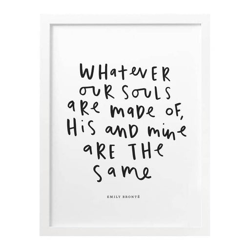 wuthering heights quote print