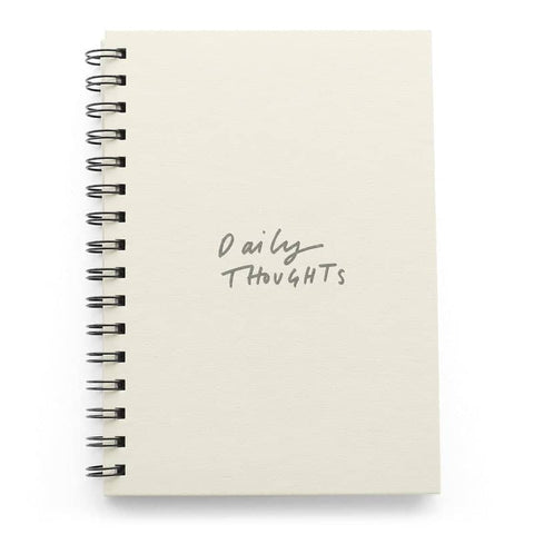 Daily Thoughts A5 Wiro Notebook
