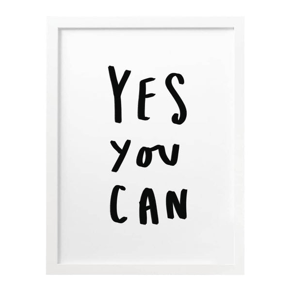 yes you can typography print