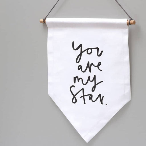 you are my star wall banner flag decoration