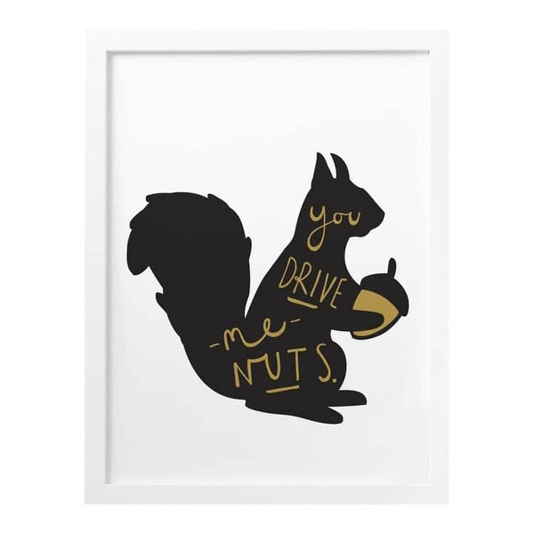 Love Squirrel print
