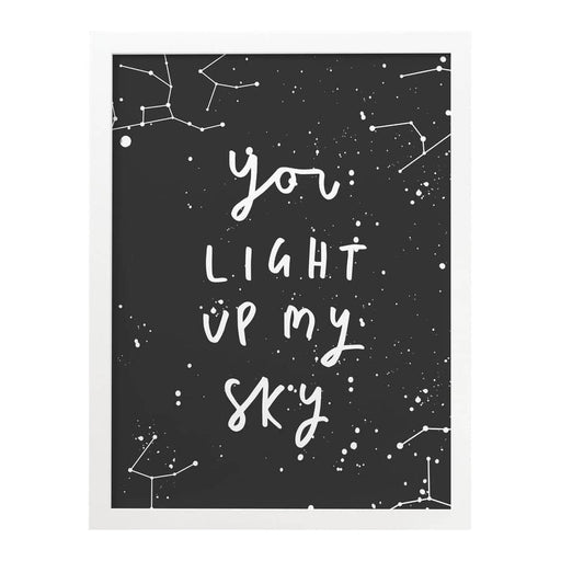 Light Up My Sky print
