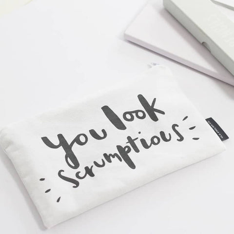 You Look Scrumptious Make Up Pouch