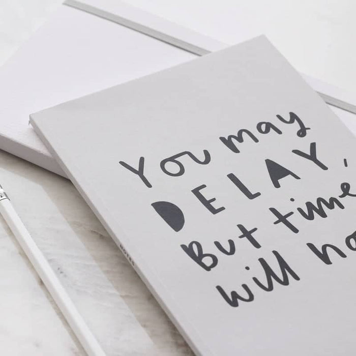 you may delay time a5 kraft notebook
