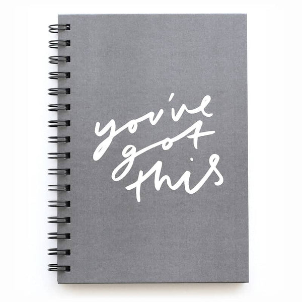 you've got this notebook