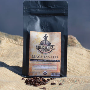 Machiavelli | Colombian | Med-Dark - Philosophical Grounds Coffee
