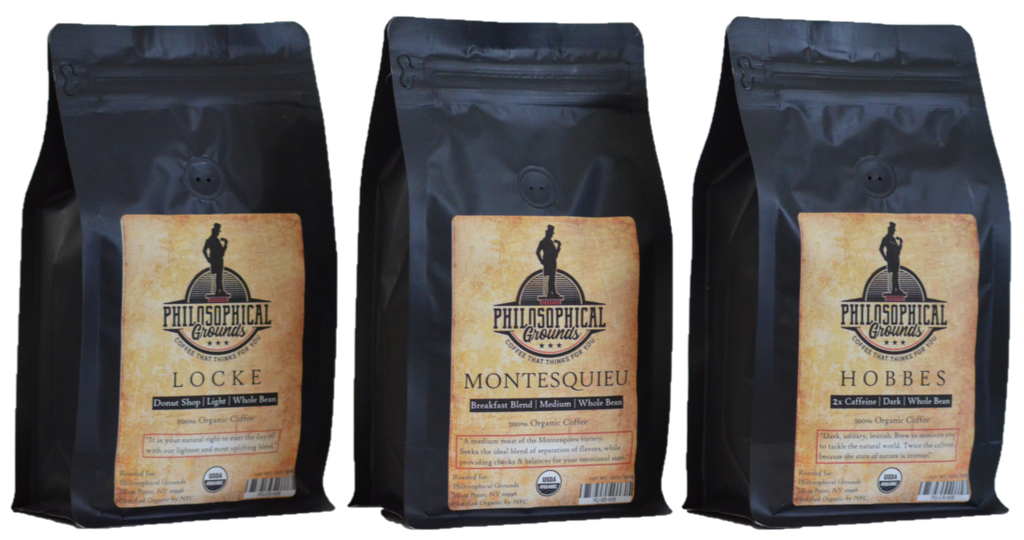 Philosopher's Bundle - Philosophical Grounds Coffee