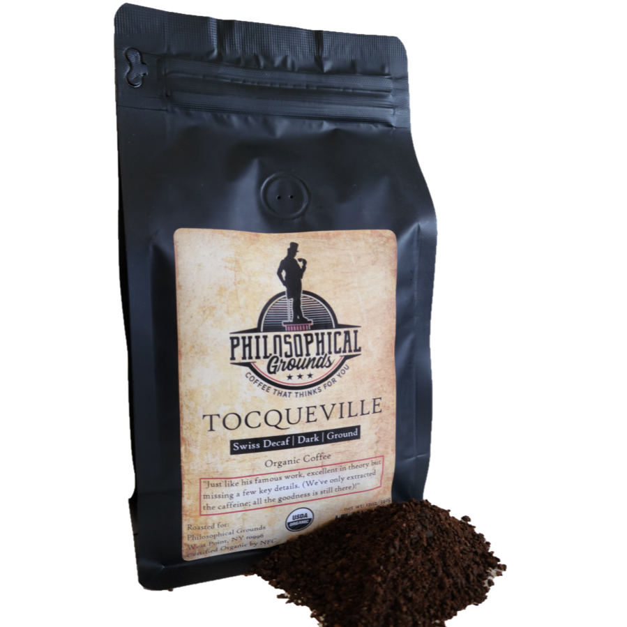 Tocqueville | Decaf | Dark - Philosophical Grounds Coffee