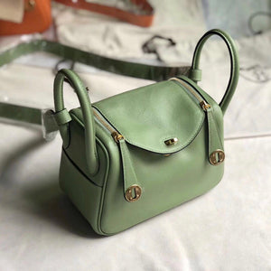 香港灣仔區愛馬仕 Hermes mini lindy swift 19cm 3i vert criquet 蟋蟀綠