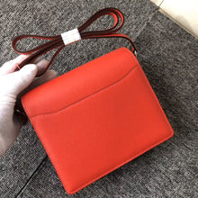 將圖片載入圖庫檢視器 Washington State USA Hermes Roulis 19cm evercolor S5番茄紅 Rouge Tomate