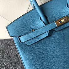 將圖片載入圖庫檢視器 The Republic of Korea Hermes Birkin 25cm P3 Blue de nord 北方藍