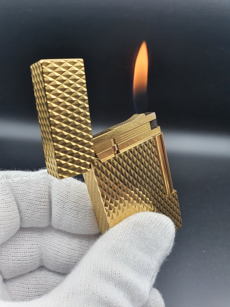 Rare 18K 750 Gold S. T. Dupont Ligne 2 Lighter 16266