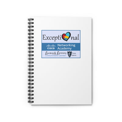 Exceptional Academy Spiral Notebook - Ruled Line