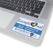 Exceptional Academy Kiss-Cut Stickers