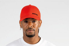 SAN DIEGO-6 PANEL CAP IN RIPSTOP - RED/BLACK