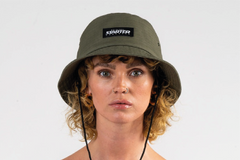 JUNGLE BUCKET HAT - KHAKI/WHITE