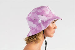 UNDRCOVER BUCKET HAT - PINK/WHITE