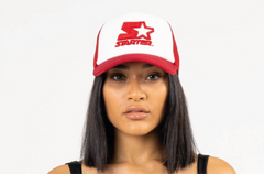 CHICAGO-FOAM FRONT MESH TRUCKER - RED/WHITE