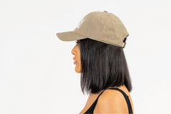MIAMI-6 PANEL CAP - STONE/WHITE