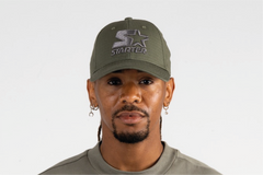 NEW YORK-6 PANEL CAP IN RIPSTOP - KHAKI/PEWTER