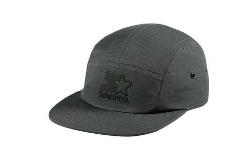 CALIFORNIA-5 PANEL CAP IN RIPSTOP - GREY/REFLECTIVE